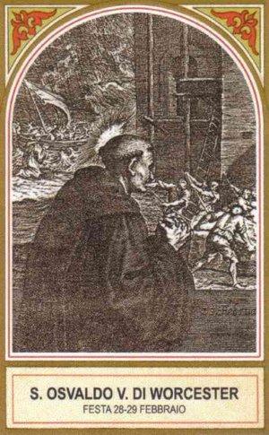 Resultado de imagen para San Osvaldo de Worcester